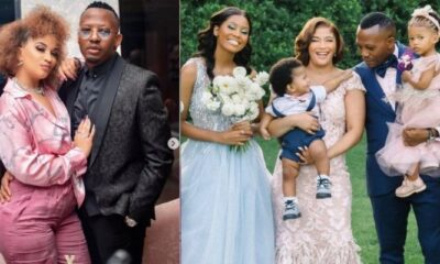 Picture of The Real Housewives of Durban Star Annie and Her Husband Kgolo Mthembu Beautiful Wedding Moments